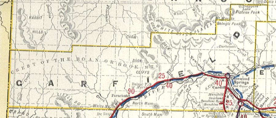 Garfield County Colorado Maps - County maps of colorado