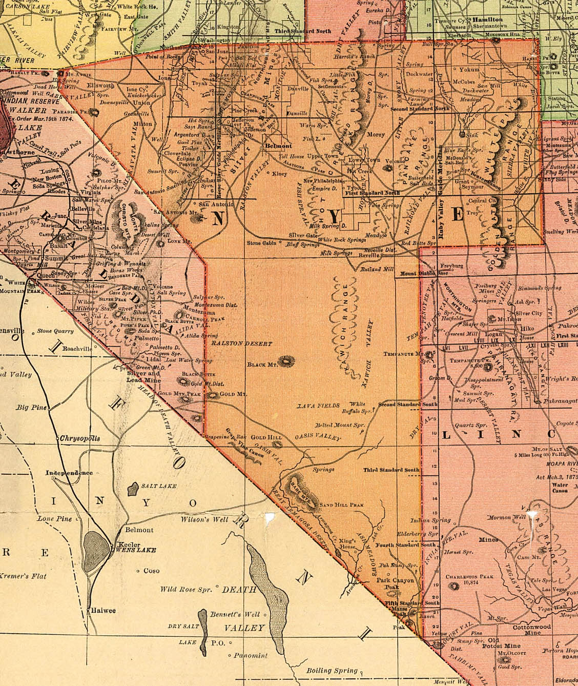 List of Synonyms and Antonyms of the Word nv county map