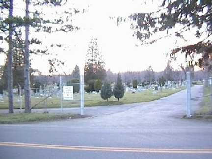 Calvary Cemetery Entrance